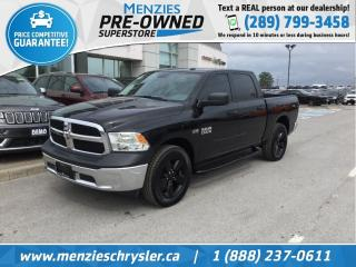 Used 2017 RAM 1500 SXT Hemi 4x4, Hitch, One Owner, Clean Carfax for sale in Whitby, ON