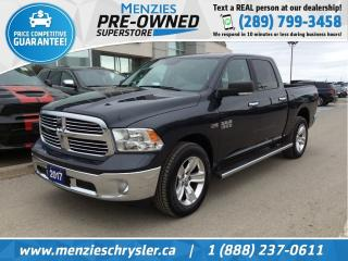 Used 2017 RAM 1500 SLT Hemi 4x4, Navigation, Cam, One Owner for sale in Whitby, ON