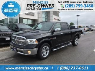 Used 2016 RAM 1500 Laramie Eco-Diesel 4x4, Navi, Sunroof, One Owner for sale in Whitby, ON