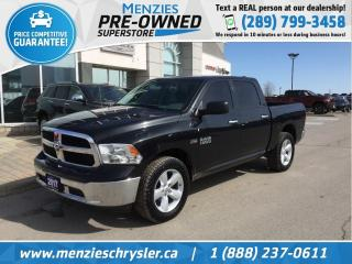 Used 2017 RAM 1500 SLT Hemi 4x4, Bluetooth, Alloys for sale in Whitby, ON