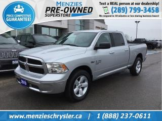 Used 2019 RAM 1500 Classic SLT Hemi Crew 4x4, Bluetooth, Clean Carfax for sale in Whitby, ON