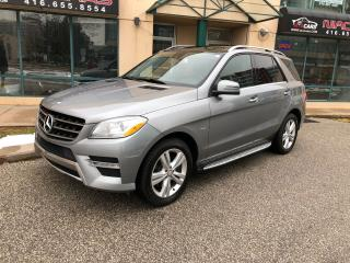 Used 2012 Mercedes-Benz M-Class ML 350 BlueTEC**NAVIGATION**PANO ROOF** for sale in North York, ON