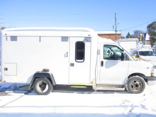 Used 2012 Chevrolet Express 3500 ambulance for sale in North York, ON