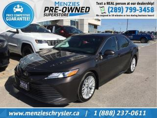 Used 2018 Toyota Camry XLE, Sunroof, Cam, Bluetooth, Clean Carfax for sale in Whitby, ON