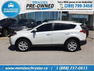 Used 2014 Toyota RAV4 Limited AWD, Navi, Sunroof, Cam, Leather for sale in Whitby, ON