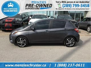 Used 2018 Toyota Yaris SE, Bluetooth, Cam, One Owner, Clean Carfax for sale in Whitby, ON