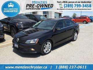 Used 2015 Volkswagen Jetta Sedan Highline TDI, Navi, Sunroof, Cam, Leather for sale in Whitby, ON