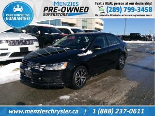 Used 2016 Volkswagen Jetta Sedan 1.8T Sport, Cam, Sunroof, One Owner, Clean Carfax for sale in Whitby, ON