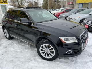 Used 2015 Audi Q5 2.0T Progressiv/ QUATTRO/ LEATHER/ SUNROOF/ ALLOYS for sale in Scarborough, ON