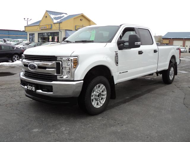 2018 Ford F-250 XLT CrewCab 4x4 6.7L TurboDiesel 8ftBox BackUpCam