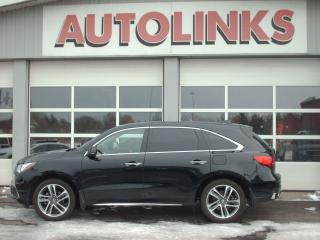 Used 2017 Acura MDX Tech Pkg SH-AWD NAVI for sale in St Catharines, ON