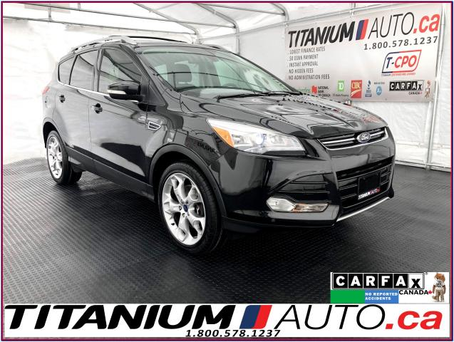 2014 Ford Escape Titanium+AWD+GPS+Camera+Pano Roof+Blind Spot+XM+
