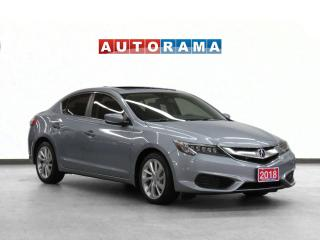 Used 2018 Acura ILX TECH PKG NAVIGATION LEATHER SUNROOF BACKUP CAM for sale in Toronto, ON