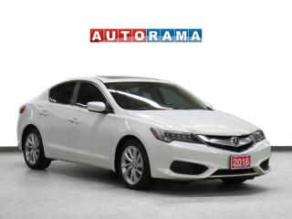 Used 2016 Acura ILX TECH PKG NAVIGATION LEATHER SUNROOF BACKUP CAM for sale in Toronto, ON
