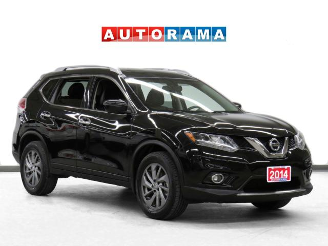 2014 Nissan Rogue SL 4WD Leather Sunroof Backup Cam