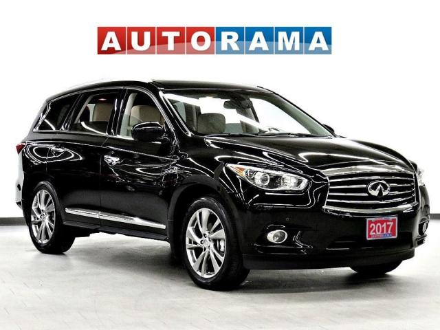 2017 Infiniti QX60 Tech 4WD Nav Leather Pano-Roof DVD Bcam 7Pass