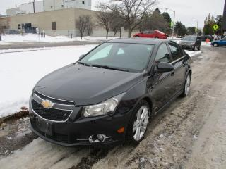 Used 2014 Chevrolet Cruze 2LT RS~NAV.~BACK-UP CAM.~LEATHER~SUNROOF~CERTIFIED for sale in Toronto, ON