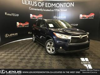Used 2015 Toyota Highlander LIMITED  for sale in Edmonton, AB