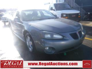 2008 Pontiac Grand Prix Base 4D Sedan