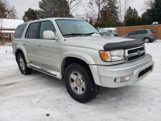 Used 2000 Toyota 4Runner Limited 4WD for sale in Waterdown, ON