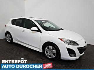 Used 2011 Mazda MAZDA3 GT NAVIGATION - Toit Ouvrant - A/C - Cuir for sale in Laval, QC