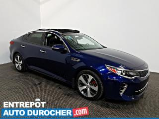 Used 2016 Kia Optima SX Turbo NAVIGATION - Toit Ouvrant - A/C - Cuir - for sale in Laval, QC