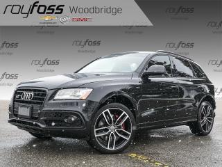 Used 2017 Audi SQ5 LOADED, SUNROOF, B&O SOUND, NAVIHATION for sale in Woodbridge, ON
