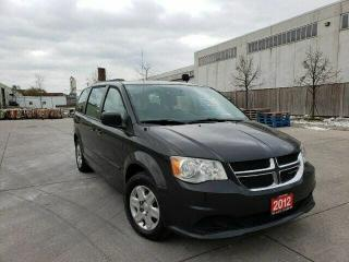 Used 2012 Dodge Grand Caravan 4DR WGN for sale in Mississauga, ON