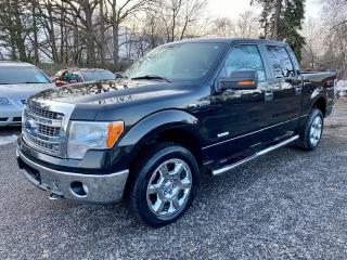 Used 2013 Ford F-150 4WD SuperCrew, XTR, 3.5 Turbo Ecoboost, alloys, no accidents for sale in Halton Hills, ON