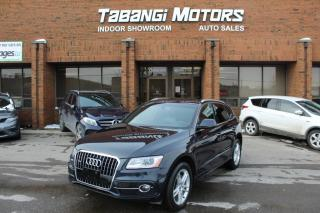 Used 2016 Audi Q5 TECKNIK I S-LINE I NO ACCIDENTS I SUNROOF I LEATHER I BT for sale in Mississauga, ON