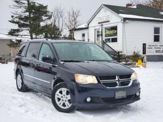 Used 2011 Dodge Grand Caravan 1-Owner CREW Stow'n'Go DVD Bluetooth Backup Cam Heated Seats for sale in Sutton, ON