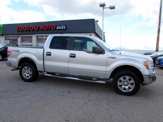 Used 2010 Ford F-150 XLT SuperCrew 5.5-ft. Bed 4WD No Accident Certified for sale in Milton, ON