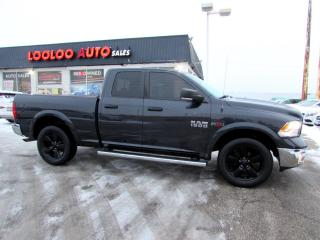 Used 2015 RAM 1500 OUTDOORSMAN Quad Cab 4WD ECO DIESEL CERTIFIED for sale in Milton, ON