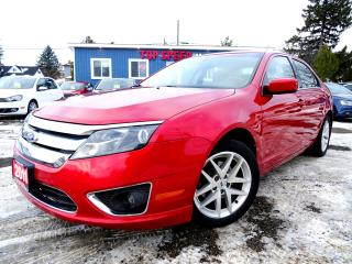 Used 2011 Ford Fusion V6 SEL Bluetooth Heated-Seats All-Power Certified for sale in Guelph, ON