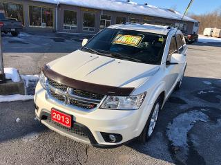 Used 2013 Dodge Journey CREW FWD ONE OWNER NO ACCIDENTS for sale in Smiths Falls, ON