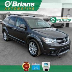 Used 2014 Dodge Journey R/T - Accident Free! w/AWD, Leather, Command Start, Backup Camer for sale in Saskatoon, SK