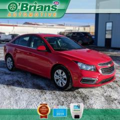 Used 2015 Chevrolet Cruze 1LT w/Cruise Control, Backup Camera, A/C for sale in Saskatoon, SK