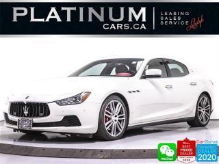 Used 2014 Maserati Ghibli S Q4, 404HP, AWD, NAV, CAM, SUNROOF, HEATED, BT for sale in Toronto, ON