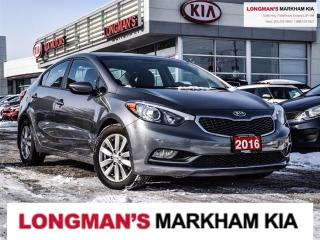 Used 2016 Kia Forte LX for sale in Markham, ON