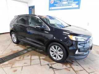 Used 2019 Ford Edge Titanium LEATHER NAVI SUNROOF for sale in Listowel, ON