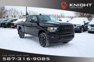 New 2019 RAM 3500 Big Horn Crew Cab | Heated Seats and Steering Wheel | Sunroof for sale in Medicine Hat, AB