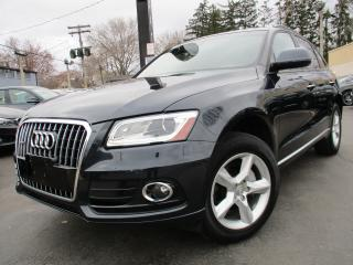 Used 2017 Audi Q5 2.0T KOMFORT|ONE OWNER|PANORAMIC ROOF|48KMS !! for sale in Burlington, ON
