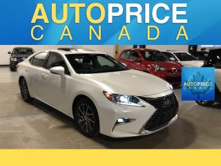 Used 2018 Lexus ES 350 NAVIGATION|REAR CAM|LEATHER for sale in Mississauga, ON