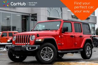Used 2019 Jeep Wrangler Unlimited Sahara|AlpineSound|SiriusXM|Nav|AuxPorts|RemoteStart|WiFi for sale in Thornhill, ON