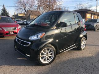 Used 2016 Smart fortwo electric drive Passion | Red Interior | Htd Seats | Glassroof for sale in St Catharines, ON