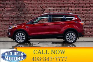Used 2018 Ford Escape AWD Titanium Leather Roof Nav for sale in Red Deer, AB