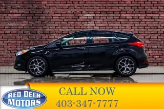Used 2018 Ford Focus SE Hatchback BCam Heated Seats for sale in Red Deer, AB
