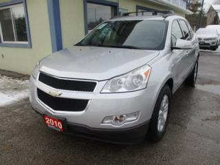 Used 2010 Chevrolet Traverse ALL-WHEEL DRIVE 2-LT EDITION 8 PASSENGER 3.6L - V6.. BENCH & THIRD ROW.. CD/AUX INPUT.. KEYLESS ENTRY.. REAR CLIMATE CONTROLS.. for sale in Bradford, ON