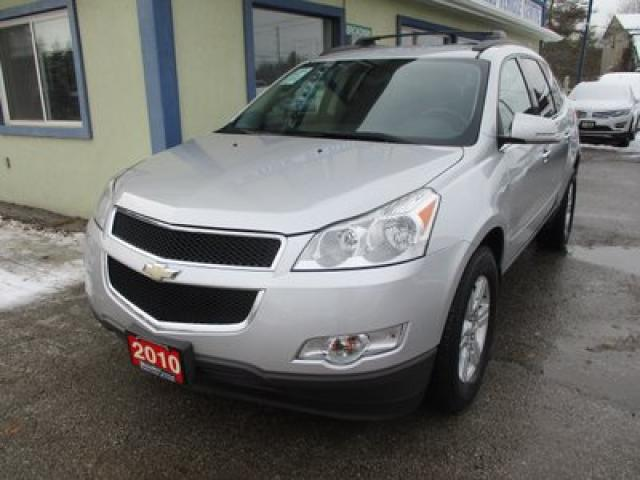 2010 Chevrolet Traverse ALL-WHEEL DRIVE 2-LT EDITION 8 PASSENGER 3.6L - V6.. BENCH & THIRD ROW.. CD/AUX INPUT.. KEYLESS ENTRY.. REAR CLIMATE CONTROLS..
