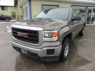 Used 2014 GMC Sierra 1500 LIKE NEW SL EDITION 6 PASSENGER 5.3L - V8.. 4X4.. CREW.. SHORT.. CD/AUX/USB INPUT.. KEYLESS ENTRY.. for sale in Bradford, ON